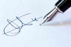 Можно ли провести экспертизу подписи?
