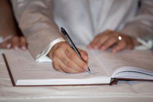 Вероятность результатов почерковедческой экспертизы подписи