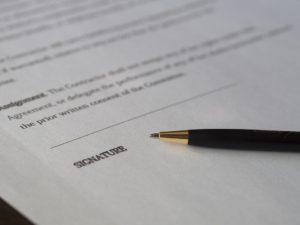 Ходатайство о назначении почерковедческой экспертизы подписи