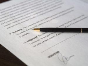 Экспертиза проверки подлинности подписи