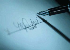 Проведение почерковедческой экспертизы подписи