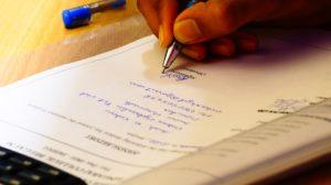 Почерковедческая экспертиза в виде справки