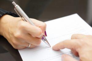 Проведение экспертизы подписи