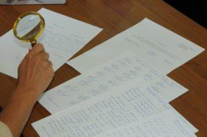 Образец ходатайства о проведении почерковедческой экспертизы подписи