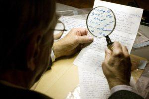 Методика проведения почерковедческой экспертизы