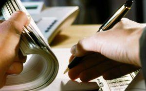 Определение о назначении почерковедческой экспертизы