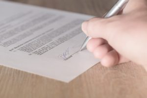 Акт почерковедческой экспертизы