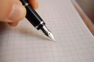 Образцы почерка для почерковедческой экспертизы