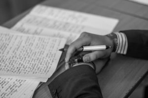Процесс экспертизы подписи